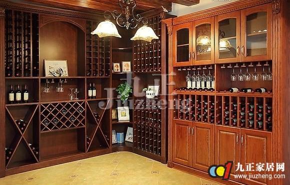 中式酒柜选购方法 中式酒柜的尺寸图片