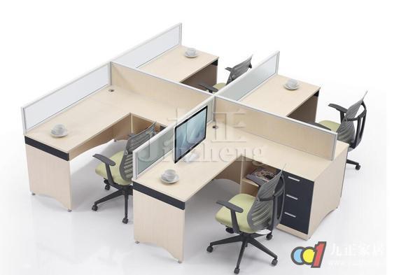 屏风办公桌尺寸规格 屏风办公桌安装   (2)拍进屏风的上部分的连接件