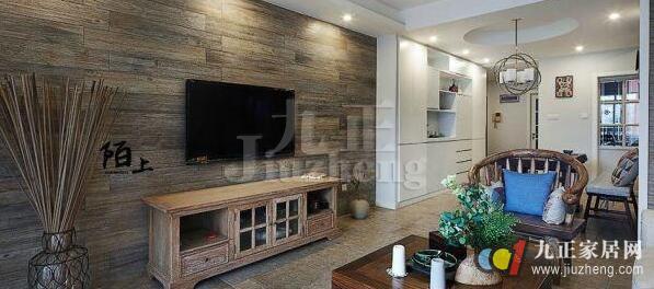 背景墙,装饰效果自然清新、大方美观。在制作过程中,注意设计规划,严格把关施工质量,即可打造出令人满意的木质电视背景墙。那么下面就和九正家居网一起来看看木质电视背景墙装修施工攻略吧。 木质电视背景墙装修施工流程 一、木质饰面板电视背景墙施工 木质饰面板纹理清爽、颜色自然,可以达到实木的外观效果,造价却远远低于实木,在日常家居中运用较为广泛。