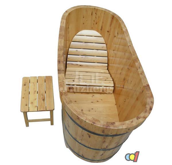 木制浴缸如何选购 木制浴缸尺寸
