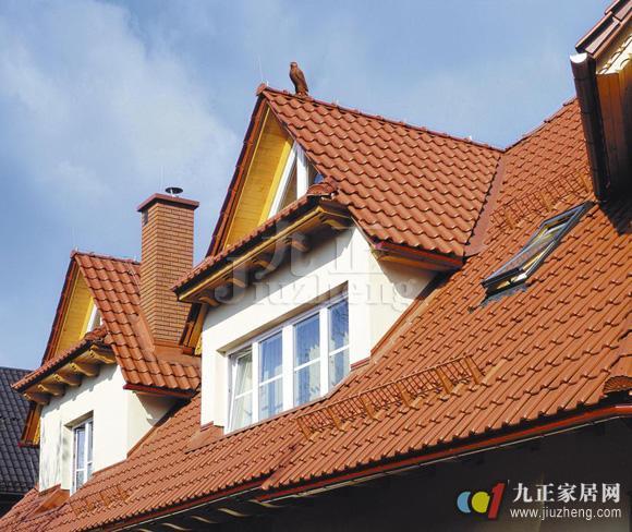 洋房顶层坡屋顶 装修