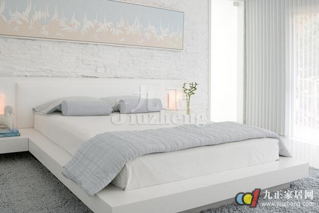 背景墙 床 房间 家居 家具 设计 卧室 卧室装修 现代 装修 623_416图片