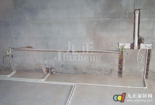 家装墙壁电路布线图