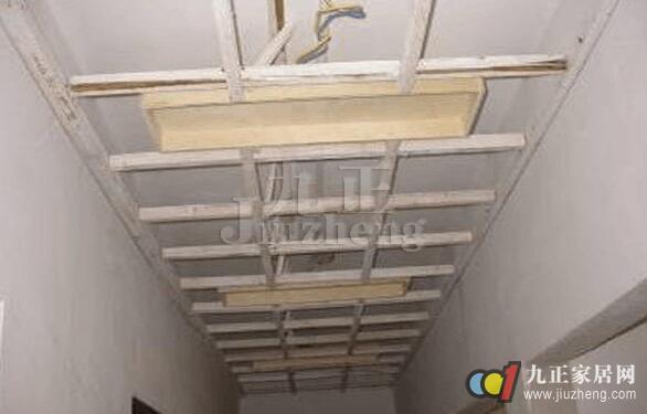 木龙骨吊顶的施工工艺 木龙骨吊顶施工注意事项
