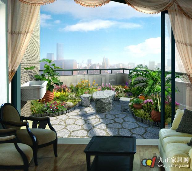 若想催旺家中财运,可以在阳台种植名字和寓意丰富的植物,例如金钱树的