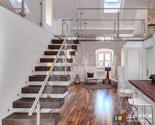 跃层楼梯如何设计 跃层楼梯尺寸图片