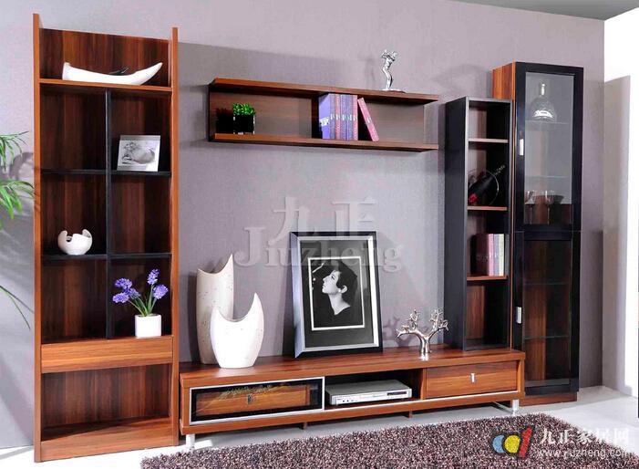 电视柜组合家具设计类型二:隐藏式