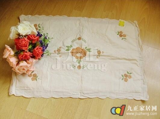 旧衣服利用手工制作枕套