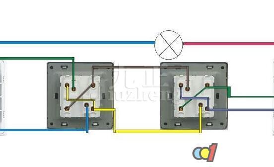 开关的l1l2接火线和零线(每个开关都需火零线到位)