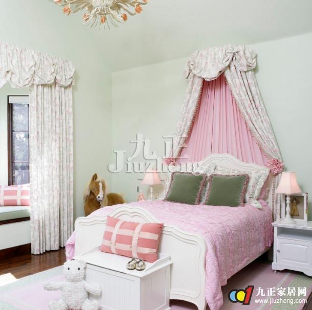 公主卧室如何设计