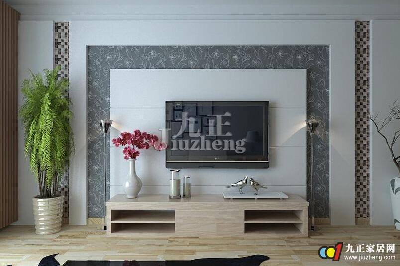 随着人们对家居时尚潮流的不断追求,以前那片空白的电视背景墙也不