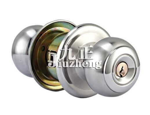 球形门锁的安装方法和拆卸方法