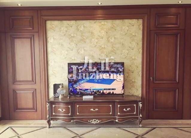 用硅藻泥装修隐形门电视背景墙的好处 隐形门电视背景