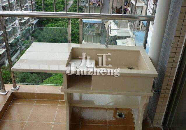 开放式阳台砖砌洗衣池施工流程 阳台洗衣池装修注意事项