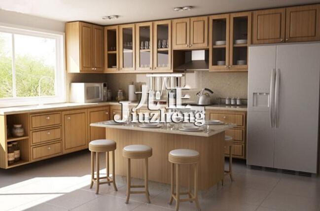一体式橱柜的优点 一体式橱柜的选购方法  橱柜是现代家居厨房空间中图片