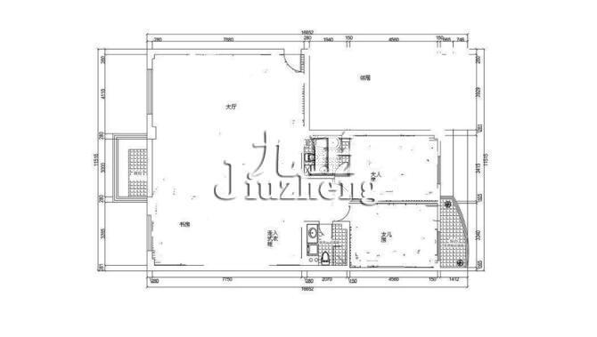怎么画房屋平面图?房屋平面图绘画步骤图片