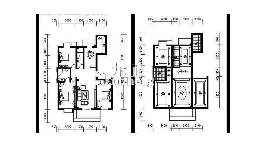 房屋平面图绘画步骤