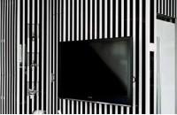 黑白经典 打造现代简约loft(图)