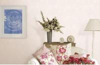 典雅系沙发背景墙 和蔼友善有...