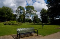 花园休闲椅椅脚、椅条部分介绍