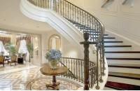 弧形楼梯怎么设计 弧形楼梯尺...