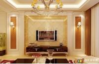 客厅欧式电视背景墙的特点 客厅欧式电视背景墙的注意事项