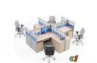隔断办公桌的特点 隔断办公桌...