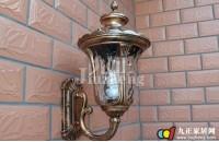 室外壁灯尺寸怎么选   户外壁灯安装方法