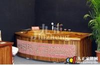 木质浴缸的特点  选购木质浴缸的注意事项