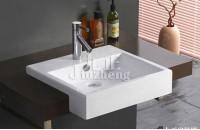 洗手池材料有哪些 卫生间面盆...