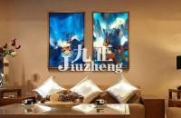 客厅装饰画如何搭配 客厅装饰画的搭配方法