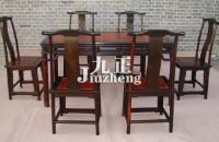 红木餐桌椅的特点 红木餐桌椅...