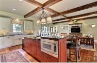 厨房铺木地板的注意事项 厨房...