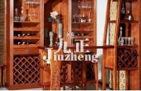 新中式酒柜的特点 新中式酒柜...
