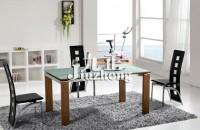 六人餐桌的尺寸是多少 餐桌餐...