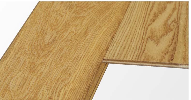 【圣象地板 实木复合地板 nk0008公园橡木 三层实木木