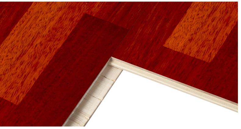 企口类型:平口 类别:实木复合地板