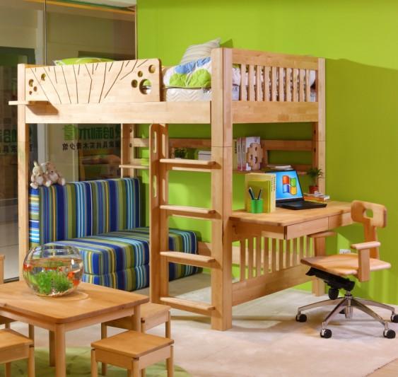 森林木屋儿童家具图片