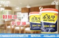 """热烈庆祝海顺水漆""""木装甲""""强势登陆央视广告"""