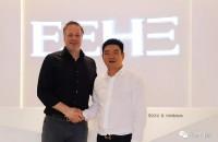 德国好博(HOPPE)集团亚太区总裁Eric Kersten先生到访亿合手机验证领58彩金不限id总部