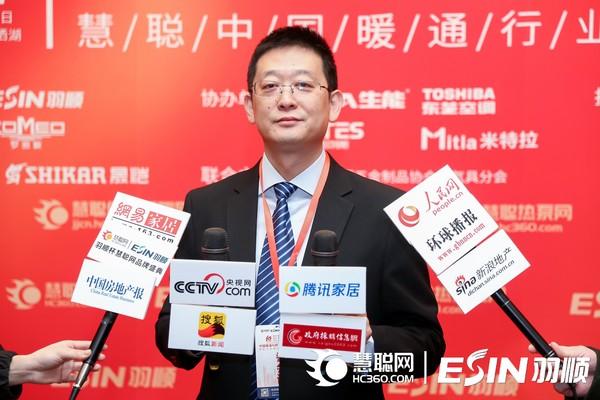 冠名商代表中山市羽顺热能技术设备有限公司总经理杨光先生接受媒体群访