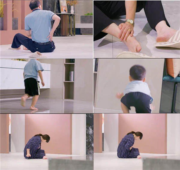 卓远岩板瓷砖:阻滑系数大,家人不打滑!
