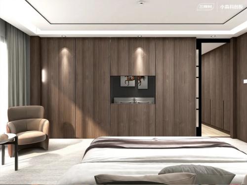 三棵树小森科创板卧室空间效果图