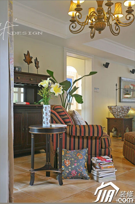 三米设计—拥抱阳光 迷人欧式精致家装修效果图