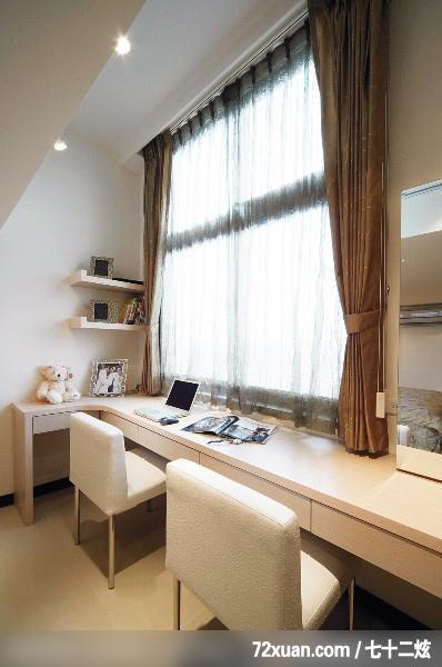 卧室,阅读区,书架层板,造型天花板,装修效果图 第1张 家居图库