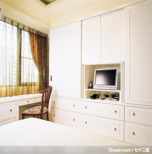 卧室电视柜木工造型