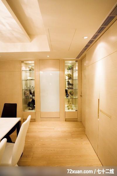 观林室内设计工程,黄传林,餐厅,展示柜,造型天花板,冷气摆放设计,隐藏