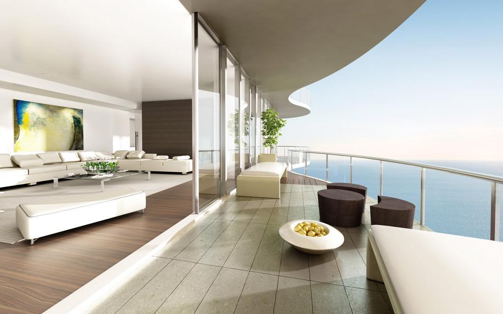 155平现代简约客厅装修效果图 第1张 九正家居装修效果图