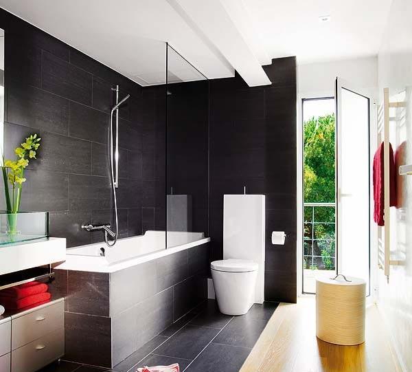 黑色浴室设计图赏装修效果图
