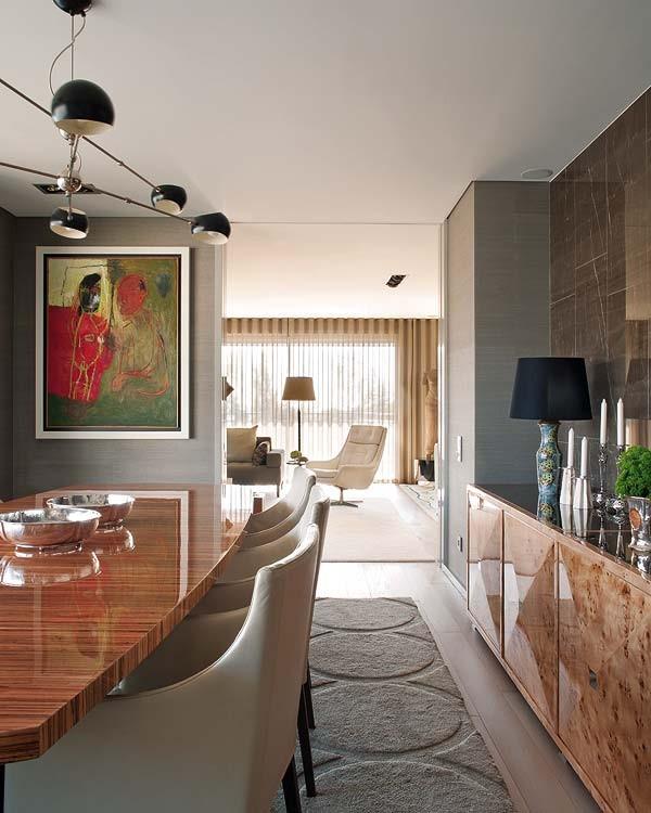 复式楼现代风格浪漫餐厅装修效果图